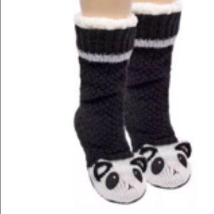Jane and Bleeker Chunky Panda Socks